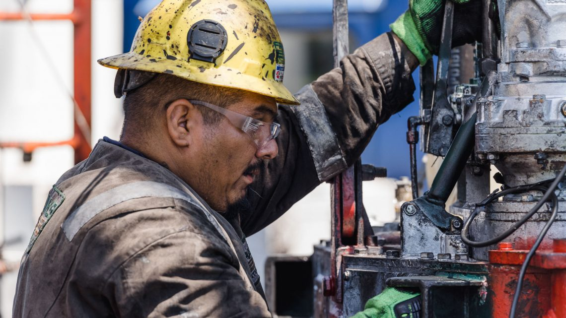 Drilling Section Photo